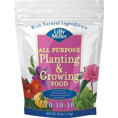 Lilly Miller 4 Lb. 10-10-10 All Purpose Dry Plant Food