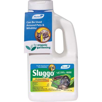 Monterey Sluggo 2-1/2 Lb. Ready To Use Granules Organic Slug & Snail Killer