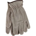 Do it Men's Medium Brushed Suede Leather Work Glove Image 1