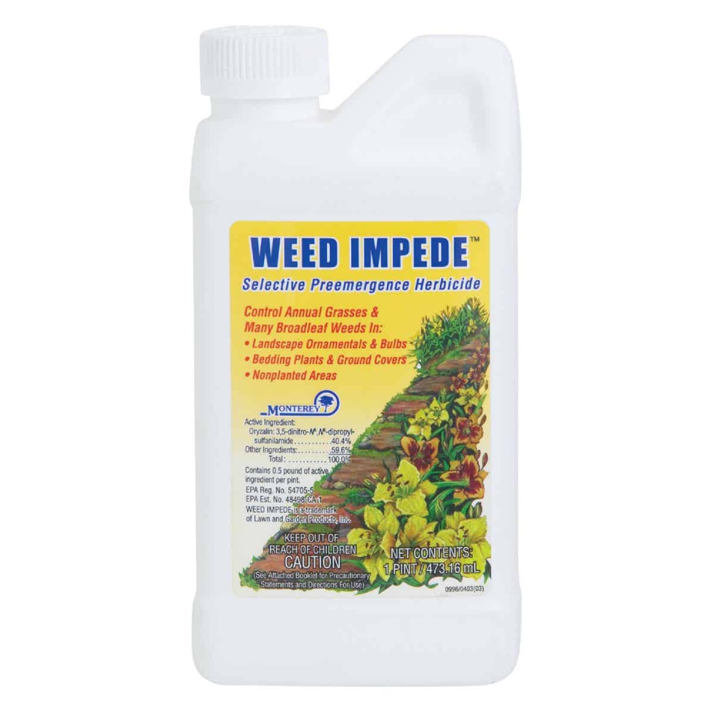 Monterey Weed Impede 1 Pt. Concentrate Weed & Grass Killer Image 1