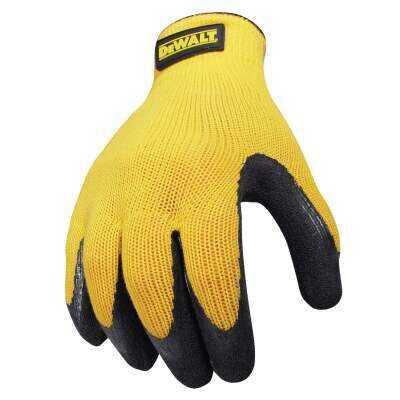 DeWalt Men's XL Gripper Rubber Coated Glove
