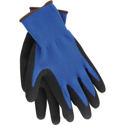 Do it Men's XL Grip Latex Coated Glove, Blue