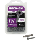 Buildex Rock-On #9 x 1-1/4 In. Philips Cement Board Screw (185 Ct.) Image 1