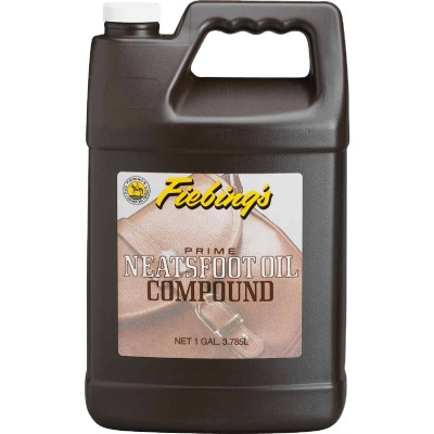 Fiebing's 1 Gal. Neatsfoot Prime Oil Compound Leather Care