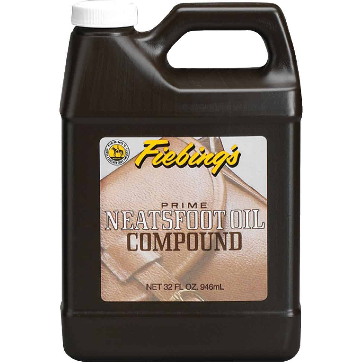 Fiebing's 32 Oz. Neatsfoot Prime Oil Compound Leather Care Image 1