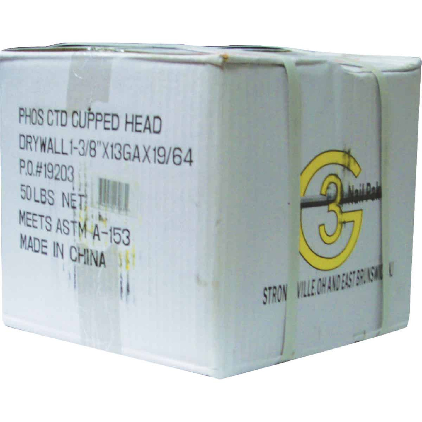Grip-Rite 1-3/8 In. 12-1/2 ga Phosphate Coated Drywall Nails (9600 Ct., 30 Lb.) Image 2