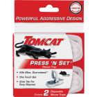 Tomcat Press 'N Set Mechanical Mouse Trap (2-Pack) Image 2