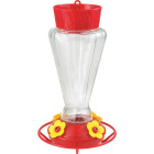 More Birds 28 Oz. Glass Royal Hummingbird Feeder Image 1