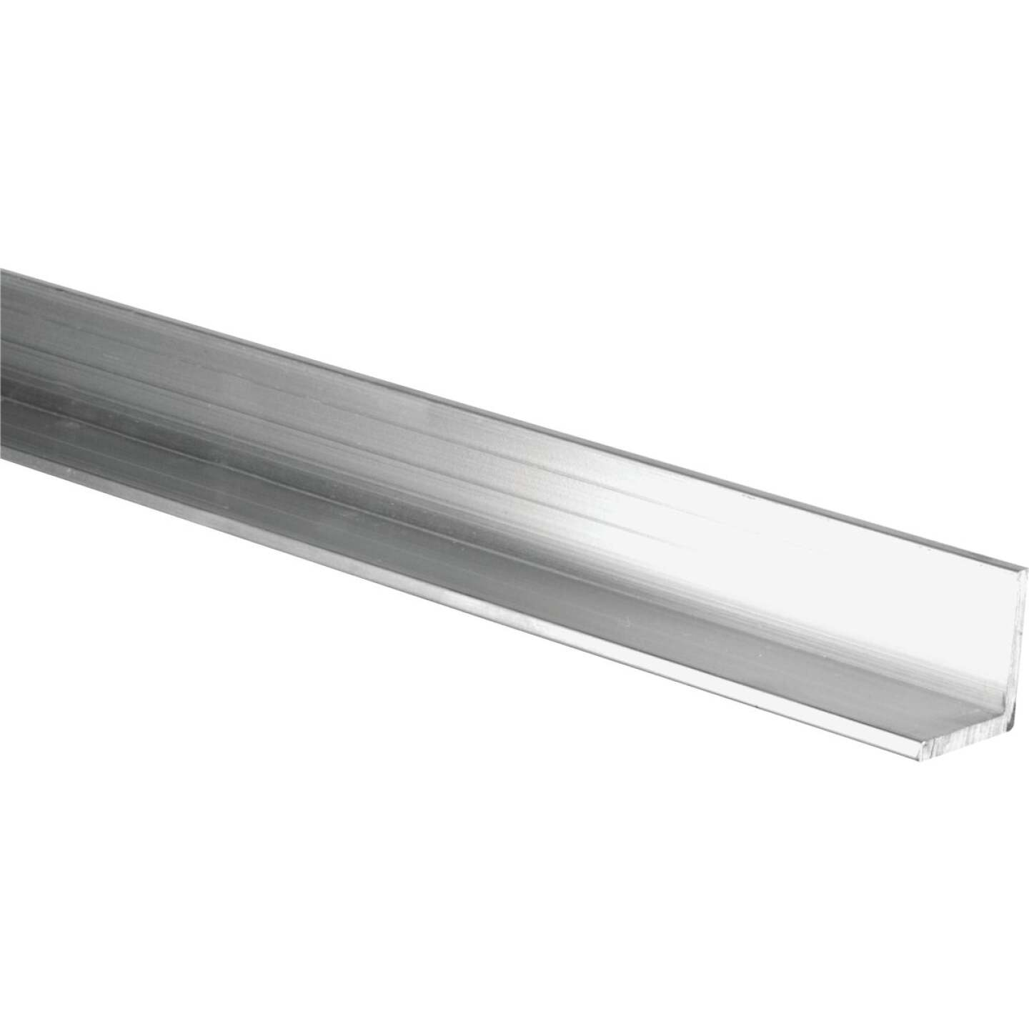 HILLMAN Steelworks Mill 1-1/2 In. x 8 Ft., 1/16 In. Aluminum Solid Angle Image 1