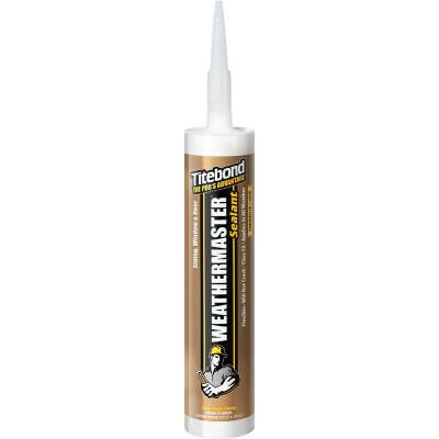 Titebond WeatherMaster 10 Oz. Polymer Sealant, 44221 Brown