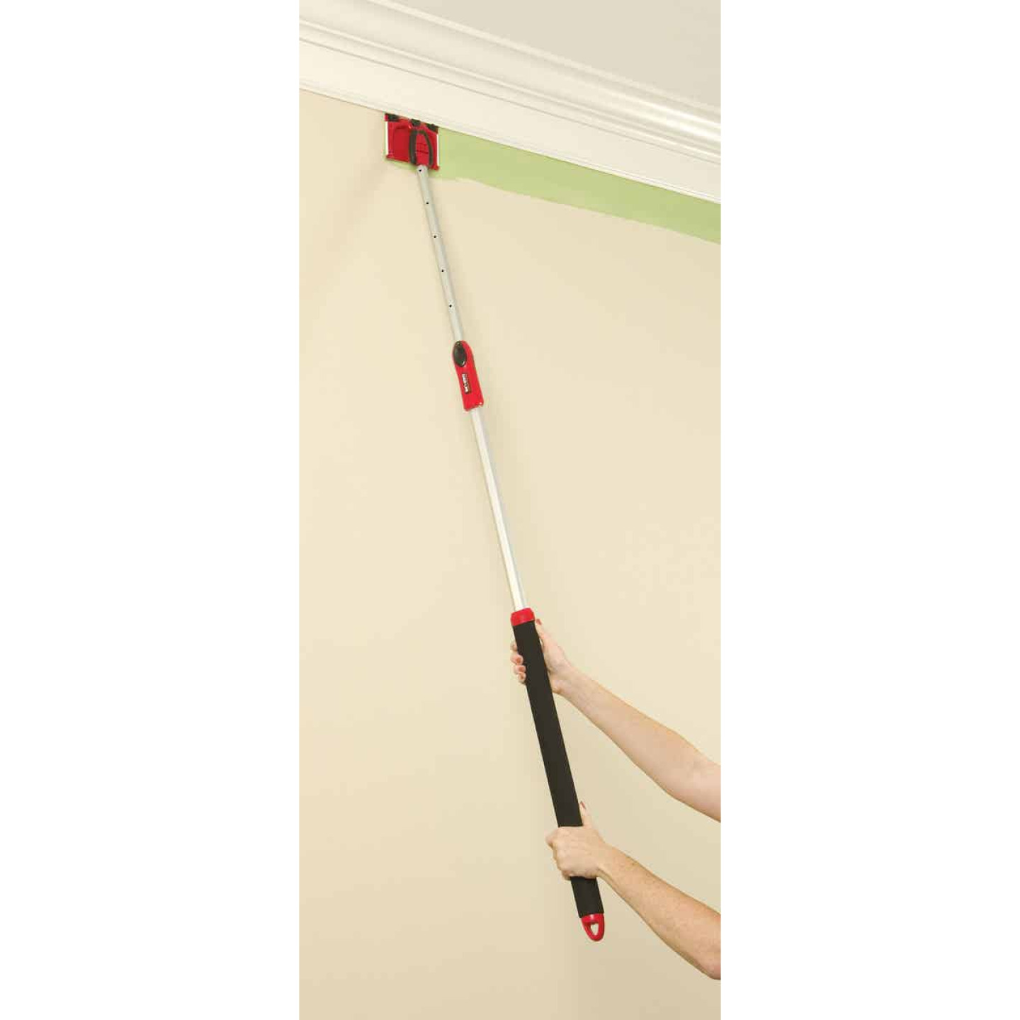 Shur-Line 18 In. to 36 In. Metal, Foam (Handle) Extension Pole Image 3
