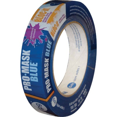 IPG ProMask Blue 0.94 In. x 60 Yd. Bloc-It Masking Tape
