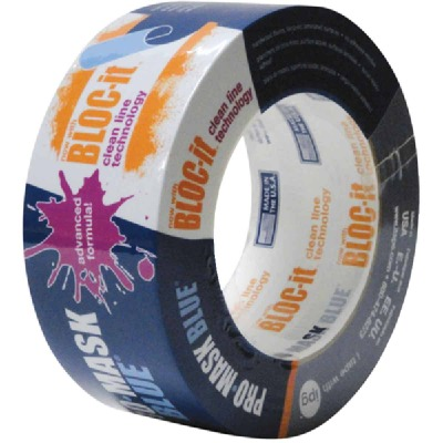 IPG ProMask Blue 1.88 In. x 60 Yd. Bloc-It Masking Tape