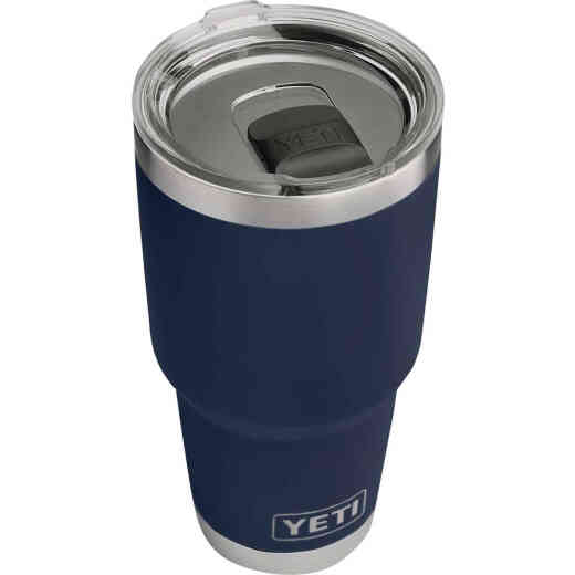 Yeti Rambler 30 Oz. Navy Blue Stainless Steel Insulated Tumbler with MagSlider Lid