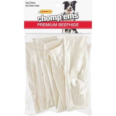Westminster Pet Ruffin' it Chomp'ems 6 Oz. Rawhide Chips