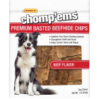 Westminster Pet Ruffin' it Chomp'ems 1 Lb. Beef Rawhide Chips Image 1
