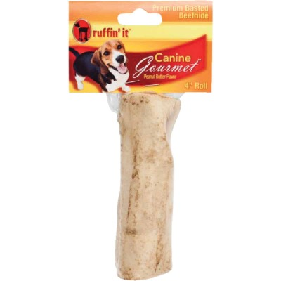 Westminster Pet Ruffin' it Peanut Butter 4 In. to 5 In. Chew Roll