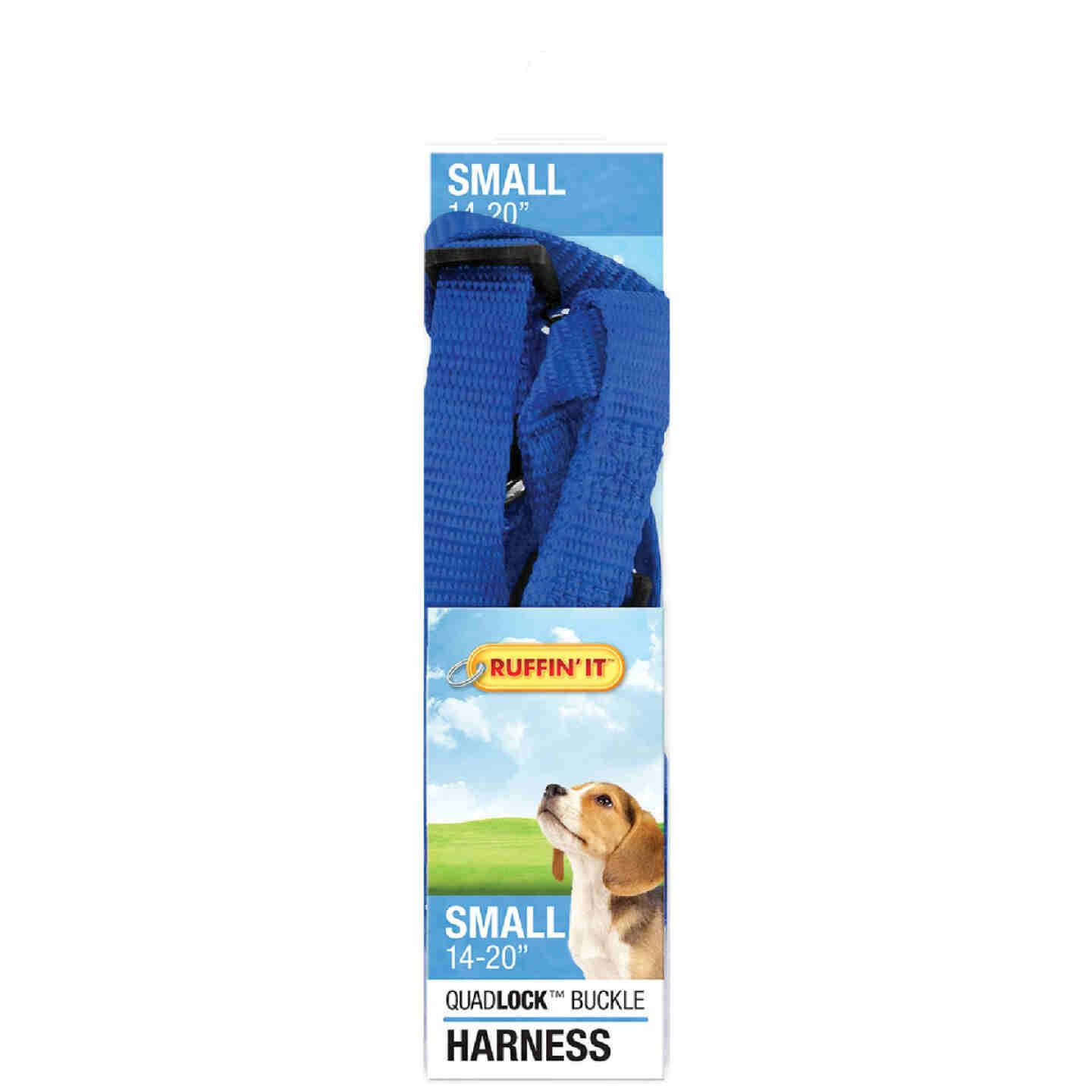 Westminster Pet Ruffin' it 14 In. to 20 In. Nylon Harness Image 2