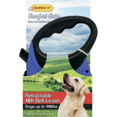 Westminster Pet Ruffin' it Up to 110 Lb. 16 Ft. Cord Retractable Leash
