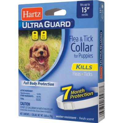 Hartz UltraGuard Water Resistant Flea & Tick Collar For Puppies