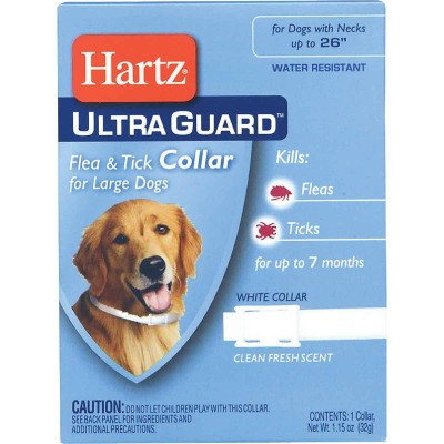 Hartz UltraGuard Water Resistant Flea & Tick Collar For Large Dogs